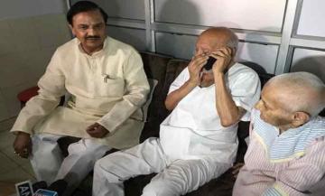 मोदी ने फ़ोन पर पूछा गांधी के पोते का हाल