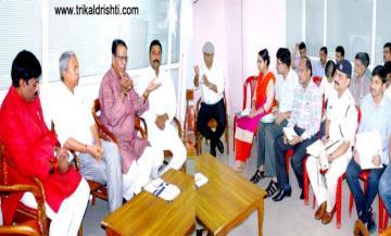 राजस्व मंत्री श्री गुप्ता ने की बाढ़ राहत कार्यों की समीक्षा