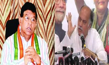 कांग्रेस को लगे एक साथ  चार  झटके: महाराष्ट्र, छत्तीसगढ़, त्रिपुरा और यूपी