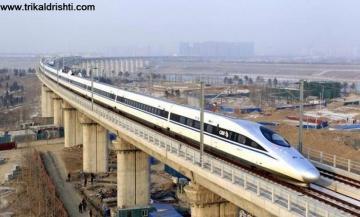 2 घंटे 40 मिनट में पूरी होगी 782 KM की दूरी- दिल्ली-वाराणसी के बीच चलेगी दूसरी बुलेट ट्रेन,