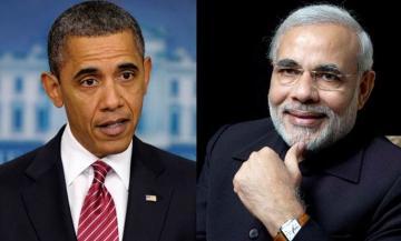 मोदी ने कहा हमे गर्व हे की भारत अमेरिका कंधे से कंधा मिलाकर काम कर रहे हैं
