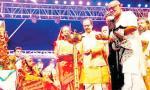 मुख्यमंत्री श्री चौहान ने पूज्य मोरारी बापू वाचित श्री रामकथा का श्रवण किया