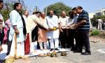 राजस्व मंत्री श्री गुप्ता ने अमलतास फेस-3 में किया सी.सी.रोड का भूमि-पूजन